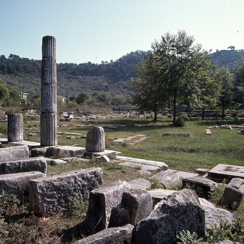 Агора. Северо-западный портик, 3-й век до н.э.