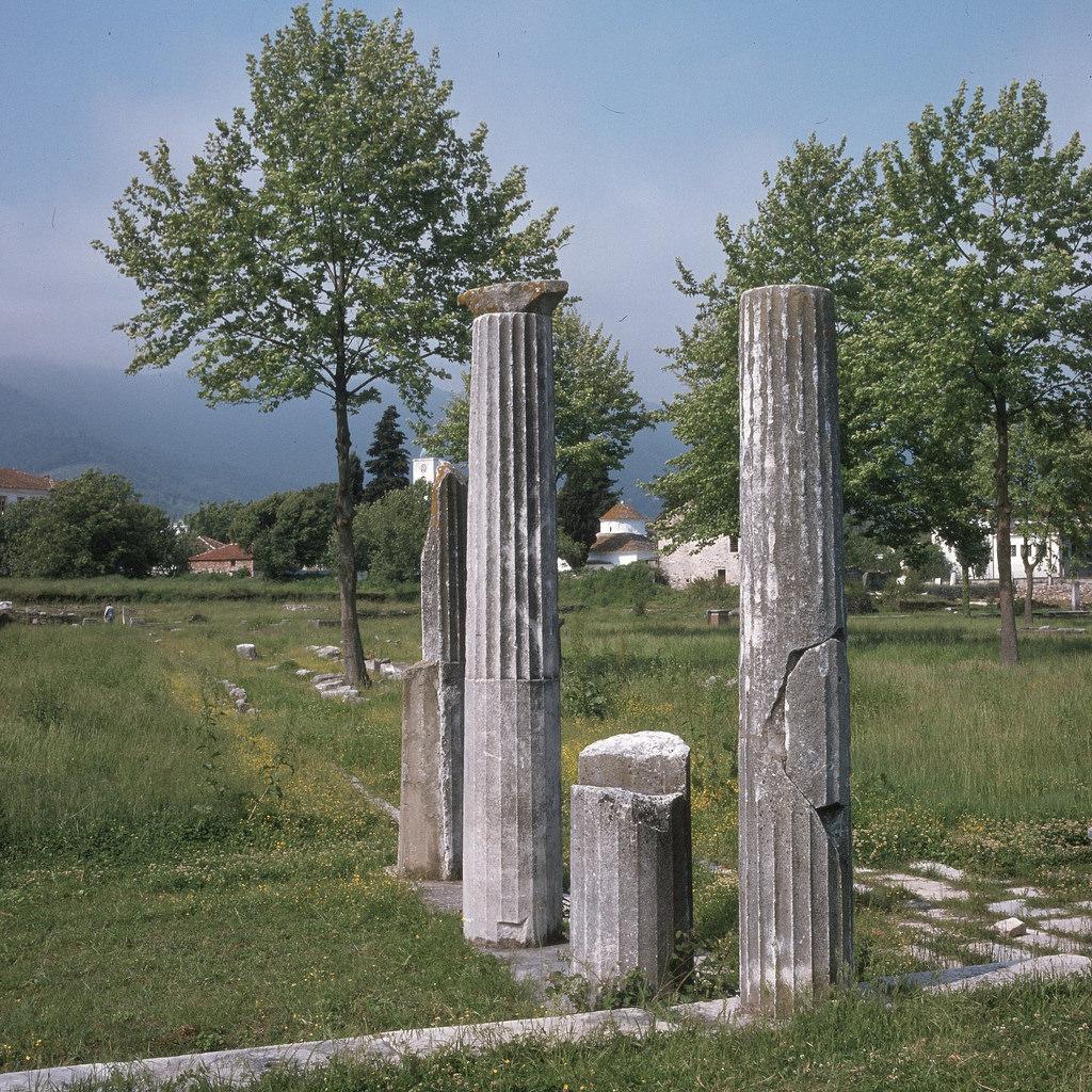 Колонны юго-восточной части Стоа на Агоре, 1-й век н.э.