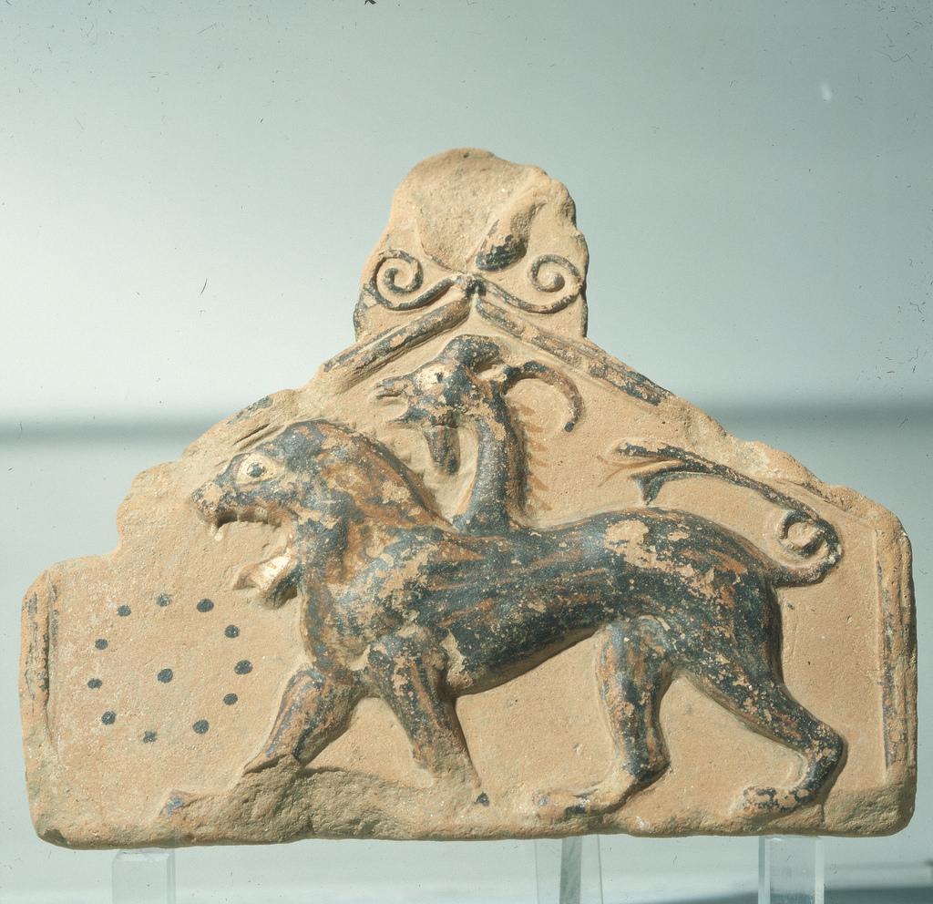Археологический музей. Терракота из святилища Геракла