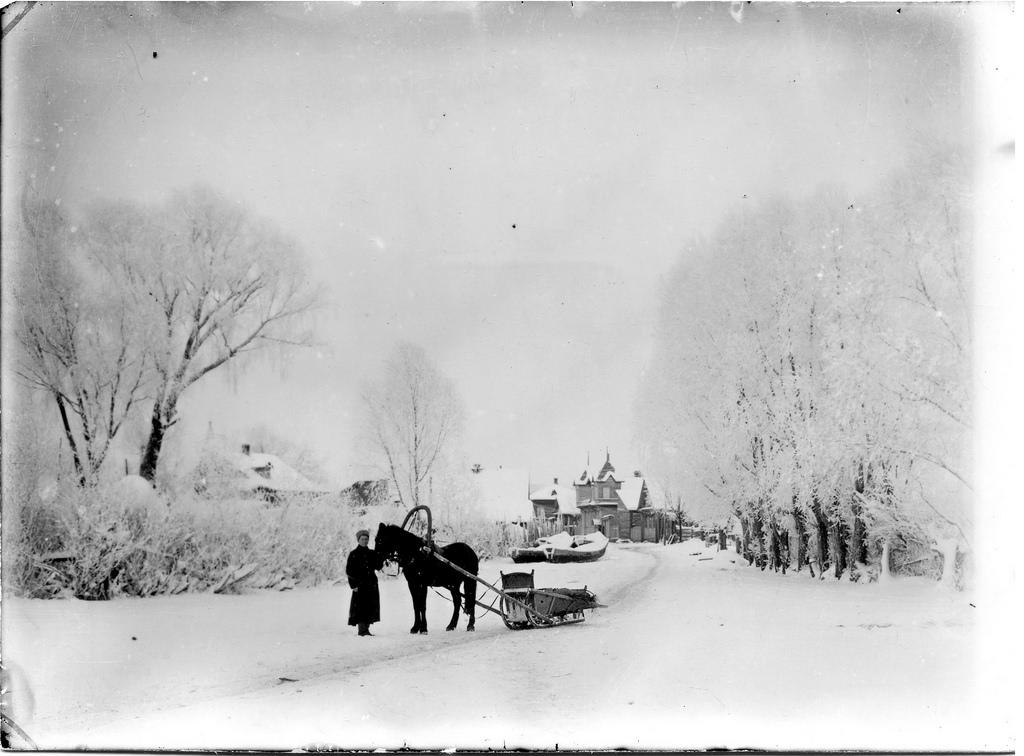 Зимняя Рыбная слобода. 1913