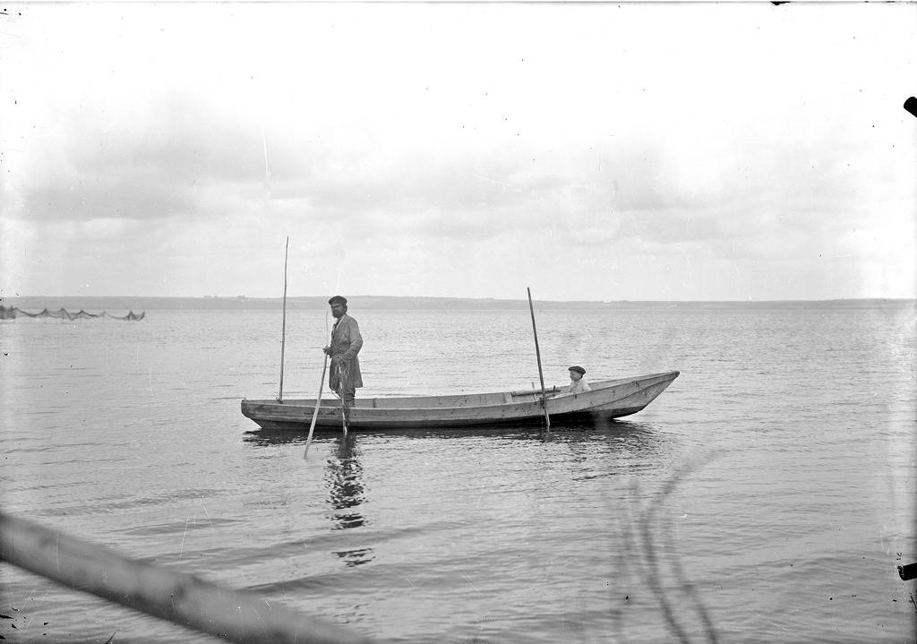 Лов рыбы колотом