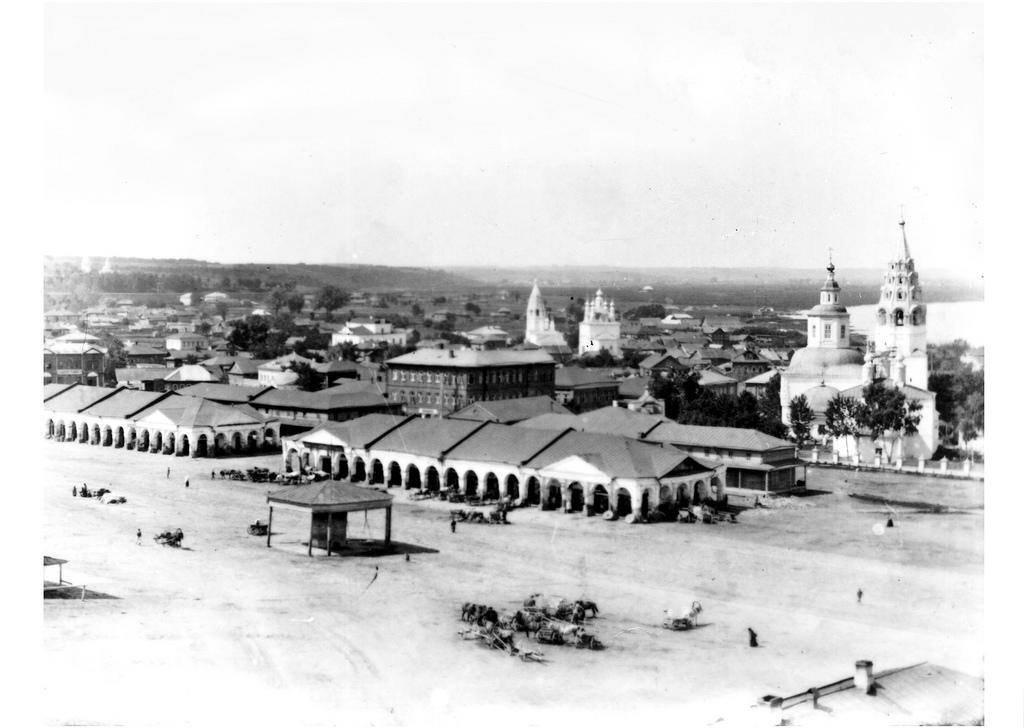 Торговая площадь. Нижние ряды. 1910
