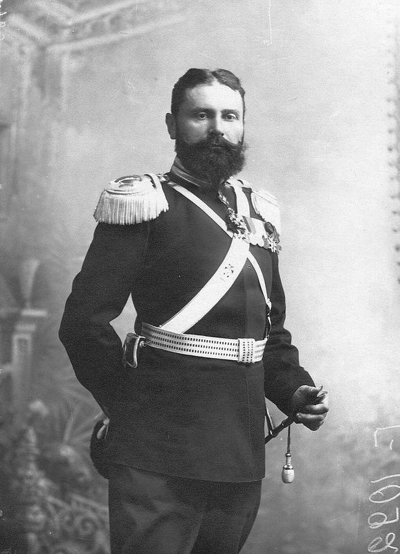 Полковник Курочкин М.С. в парадной форме. До 1909