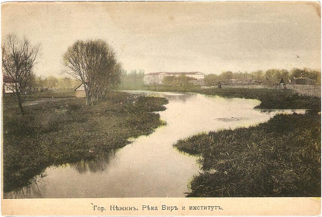 Река Вир и институт