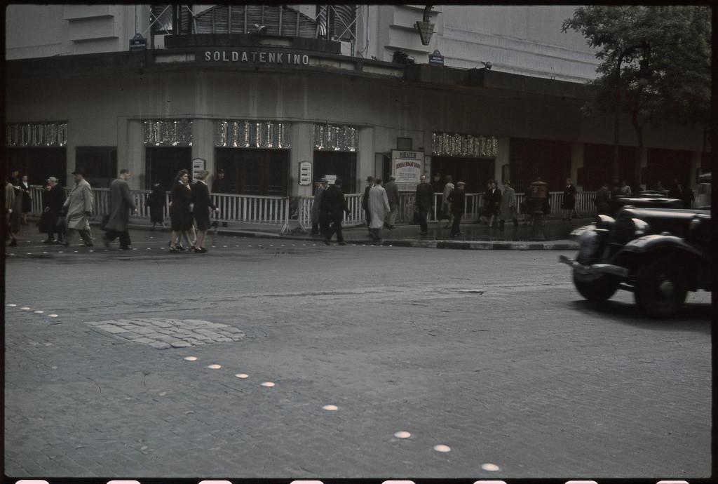 Кинотеатр для немецких солдат