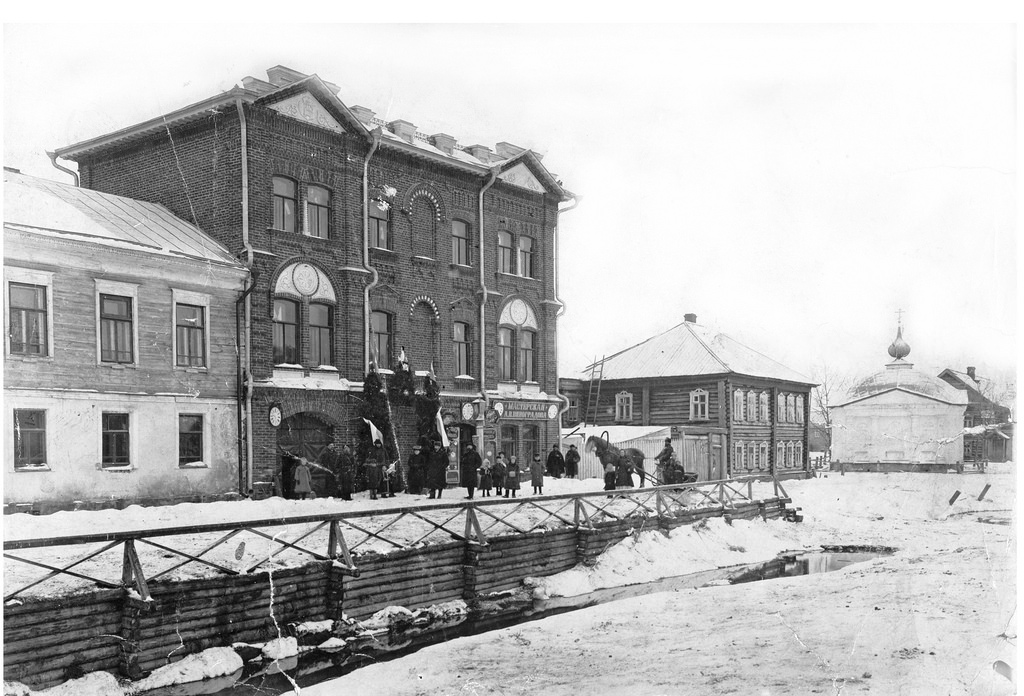 Здание электротеатра братьев Архангельских. 1906