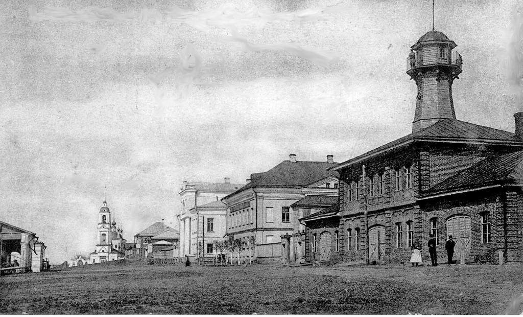 Пожарное депо и каланча (1910)