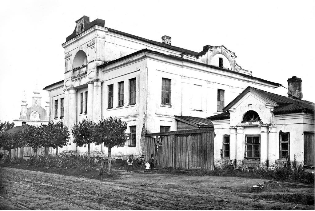 Рождественская улица. Здание мужской классической гимназии. 1911
