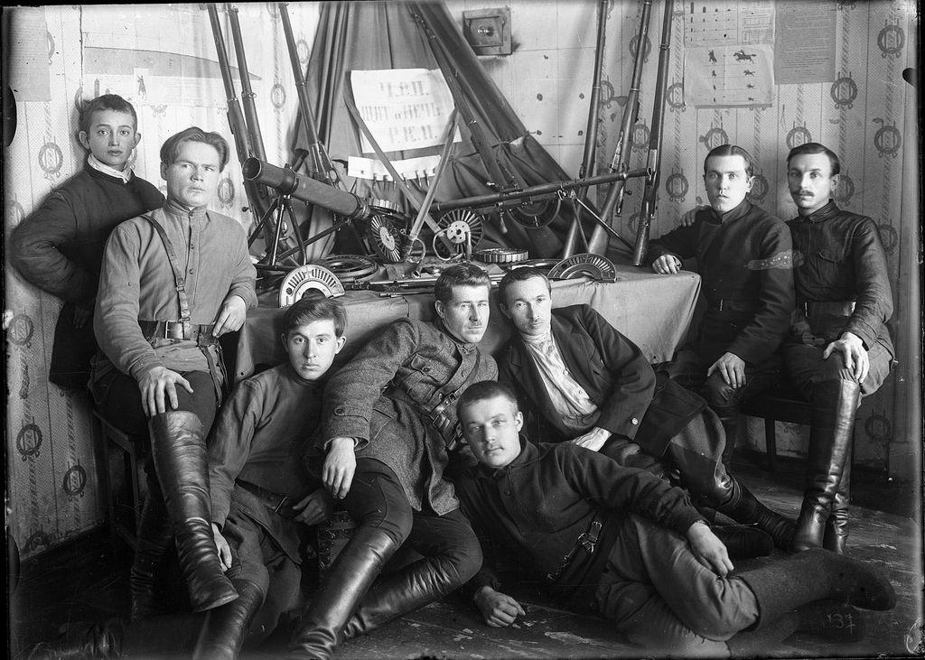 1923. Штаб Галичского ЧОН и его арсенал