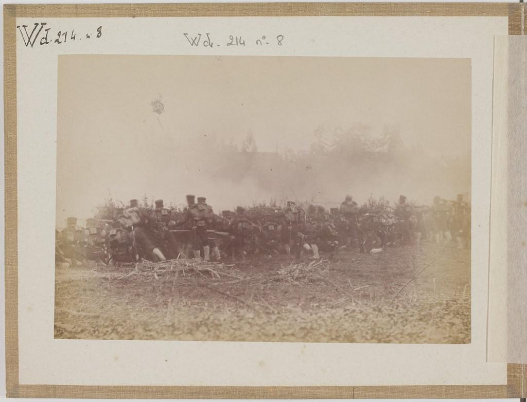 [Альбом де 23 фот. крупные военные маневры в Японии в 1892 -12