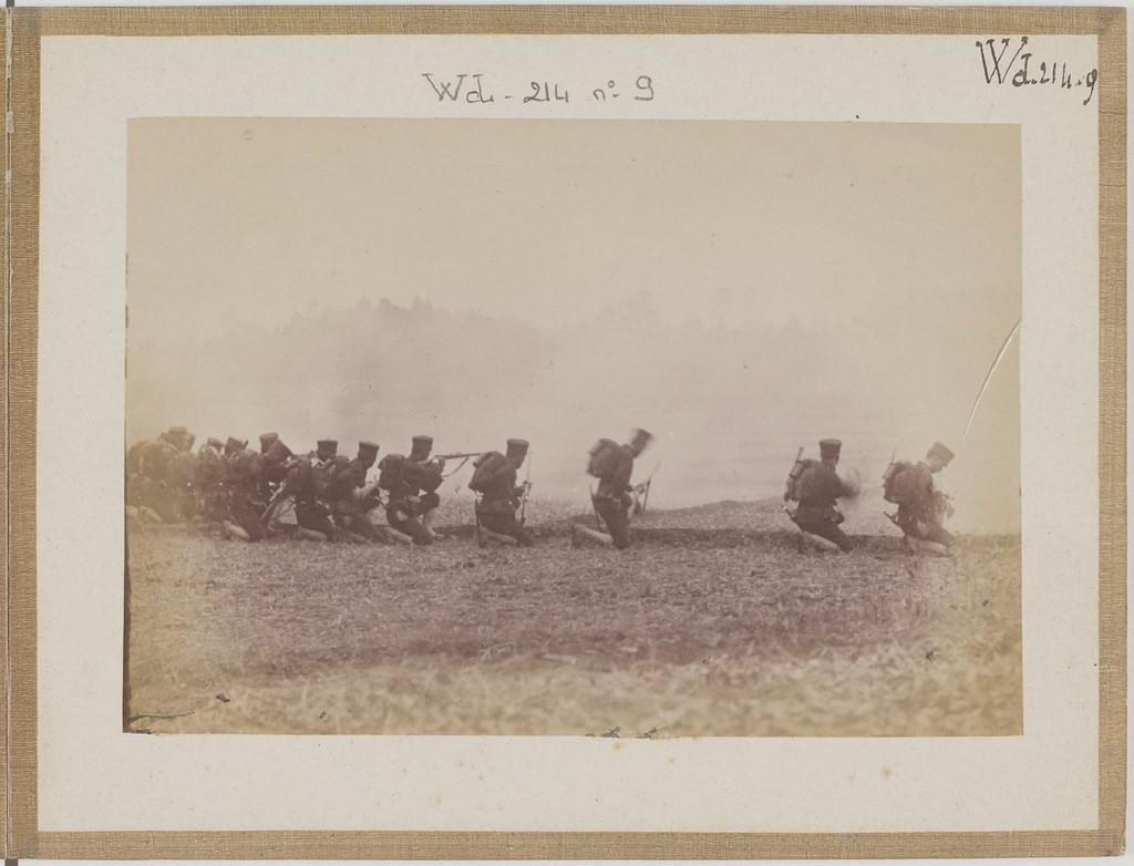 [Альбом де 23 фот. крупные военные маневры в Японии в 1892 -13