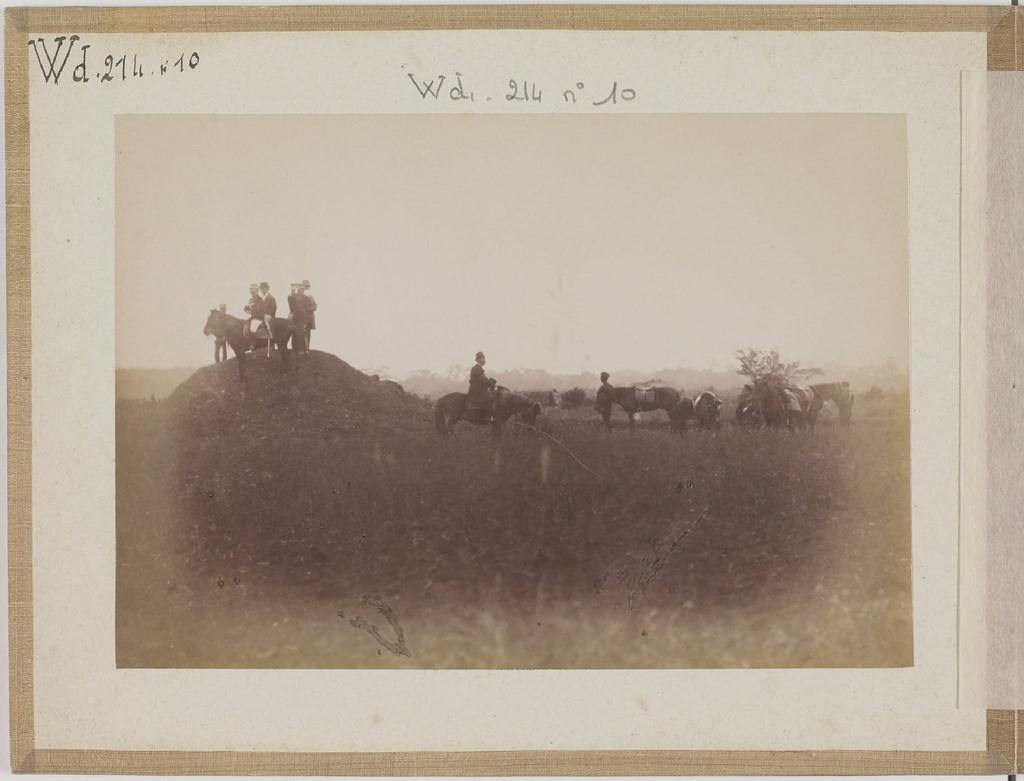 [Альбом де 23 фот. крупные военные маневры в Японии в 1892 -14