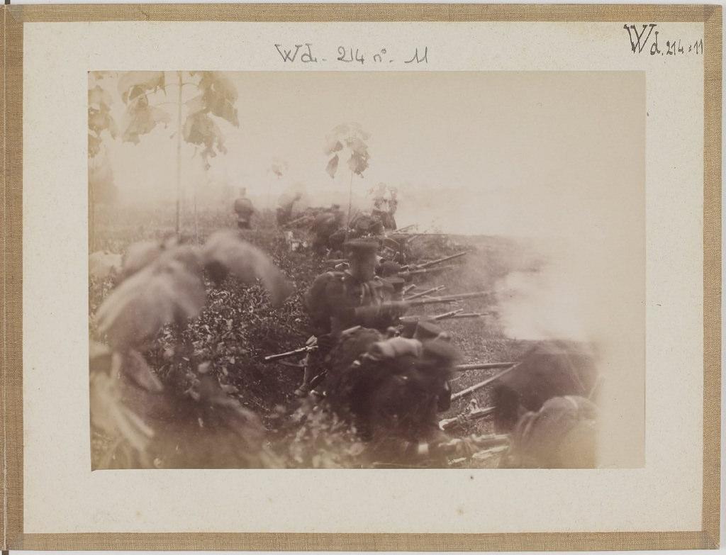 [Альбом де 23 фот. крупные военные маневры в Японии в 1892 -15