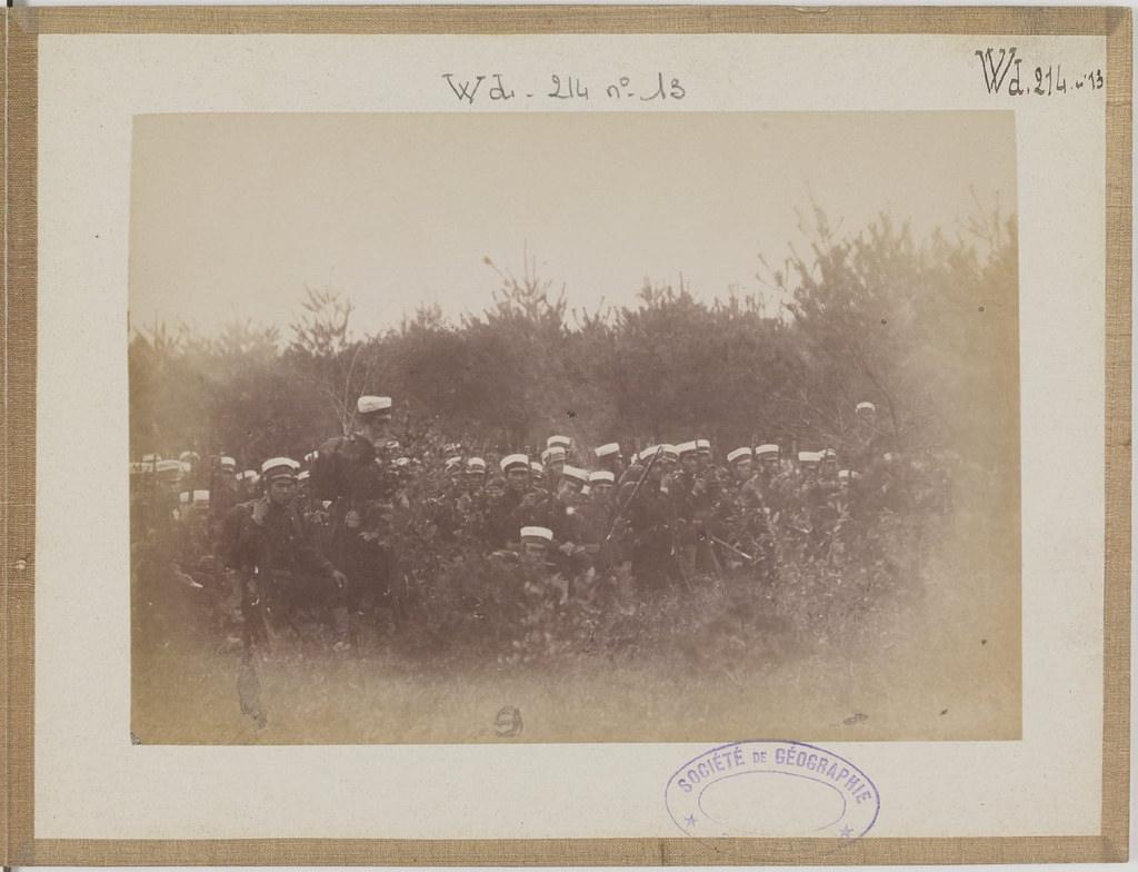 [Альбом де 23 фот. крупные военные маневры в Японии в 1892 -17