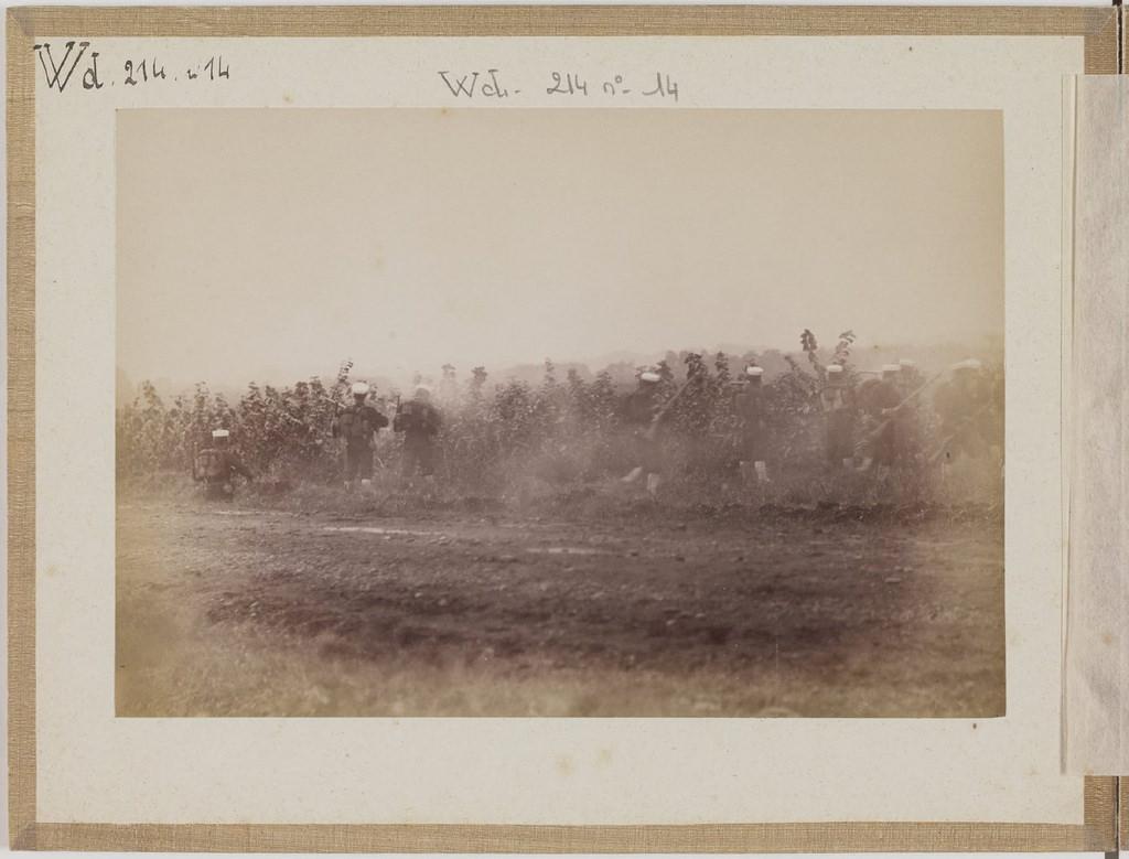 [Альбом де 23 фот. крупные военные маневры в Японии в 1892 -18