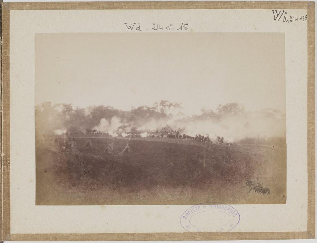 [Альбом де 23 фот. крупные военные маневры в Японии в 1892 -19
