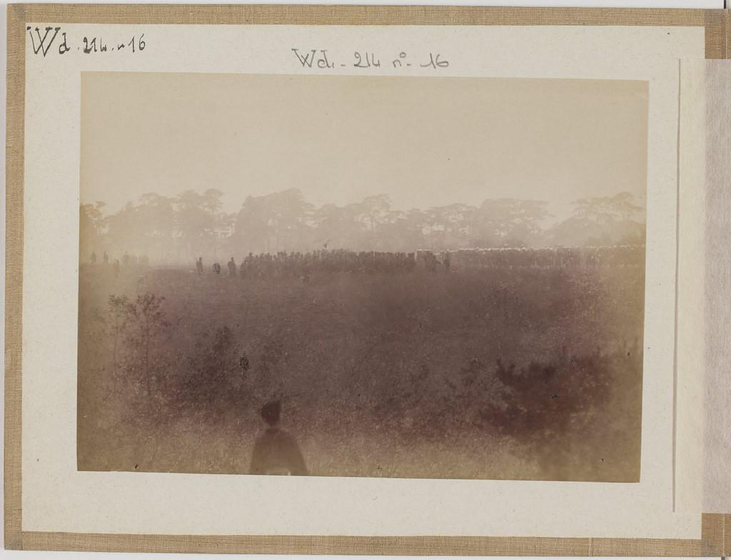 [Альбом де 23 фот. крупные военные маневры в Японии в 1892 -20