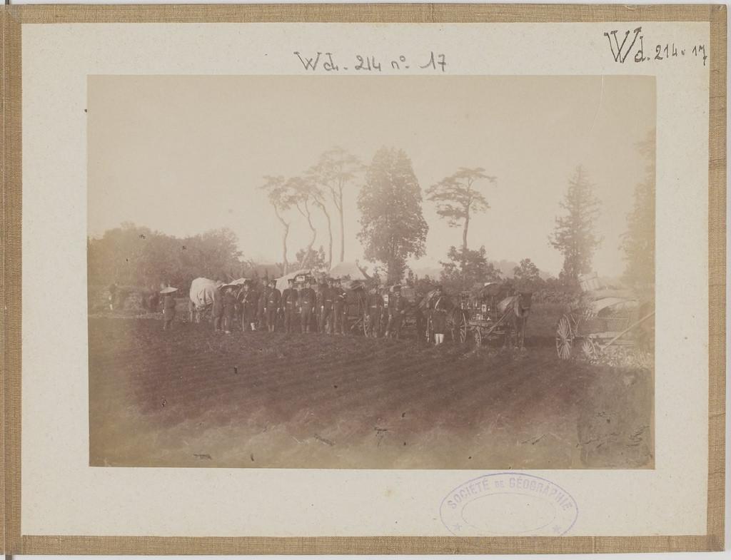 [Альбом де 23 фот. крупные военные маневры в Японии в 1892 -21