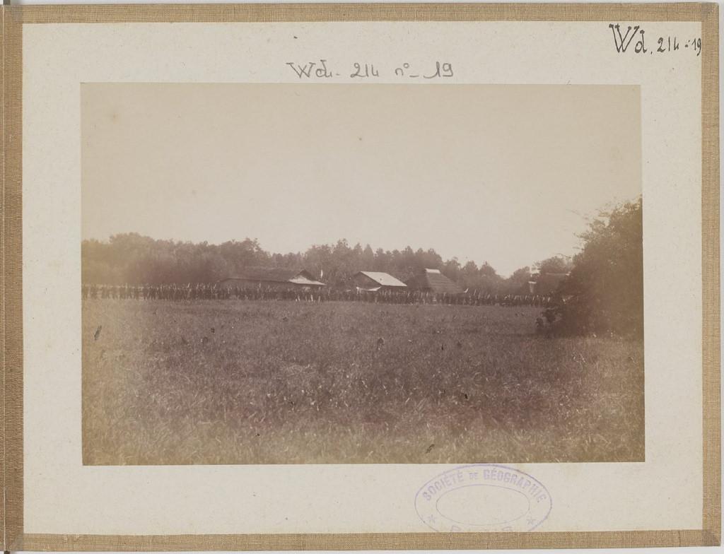 [Альбом де 23 фот. крупные военные маневры в Японии в 1892 -23