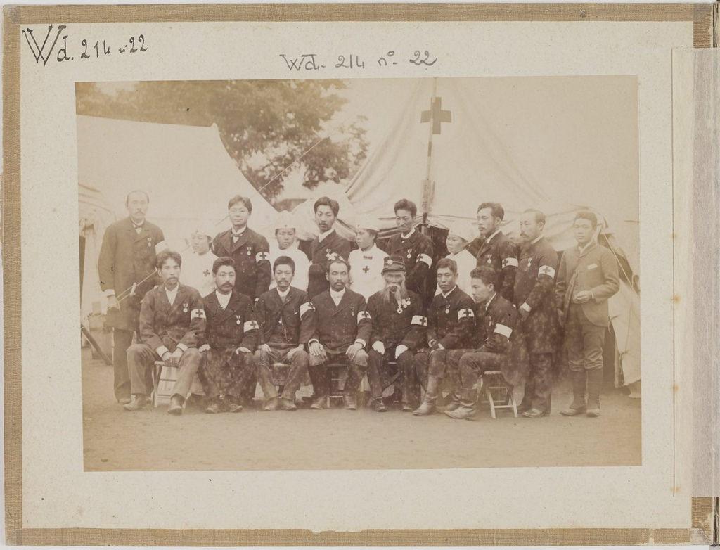 [Альбом де 23 фот. крупные военные маневры в Японии в 1892 -26