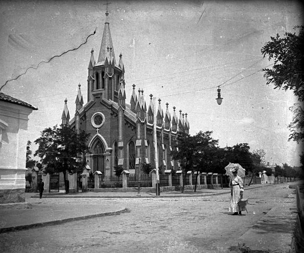 Кирха Христа Спасителя на Лютеранской улице 1910