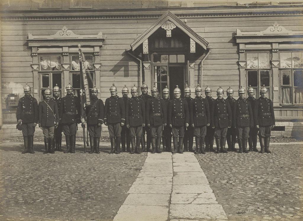 1900-е. Пожарная дружина А.Д. Шереметева