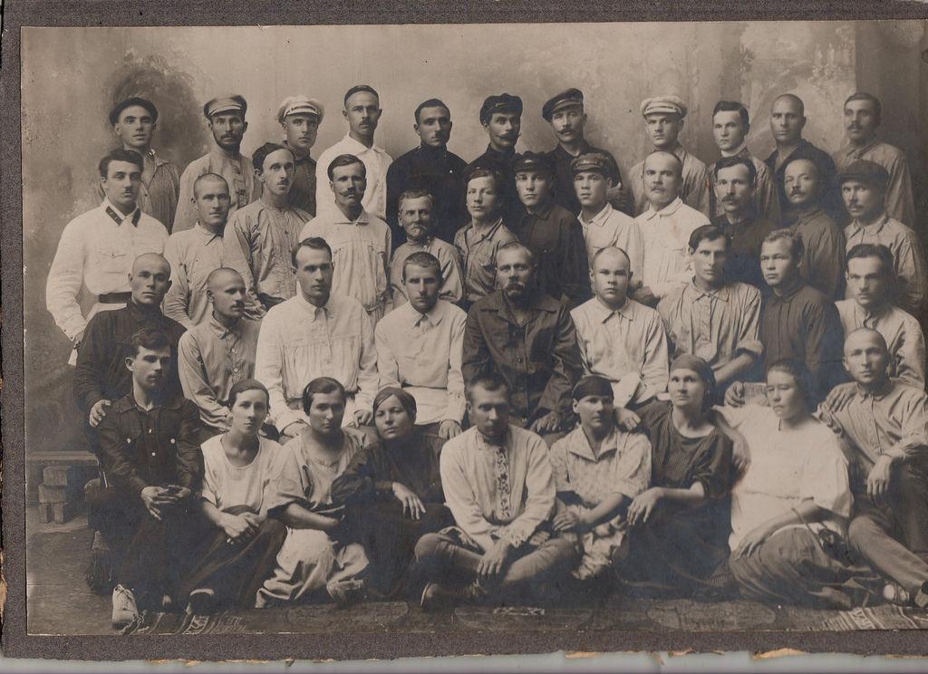 1925.Ячейка ВКПБ ташкентского окружного артиллерийского склада