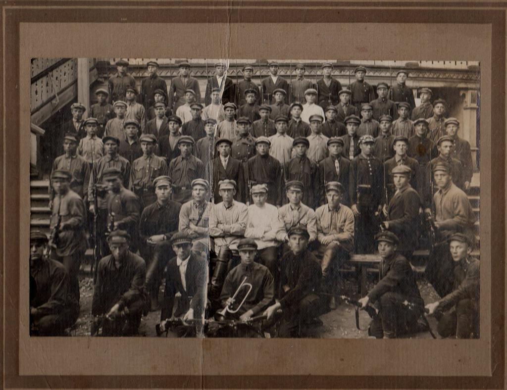 1930-е. Учебный сбор резервистов