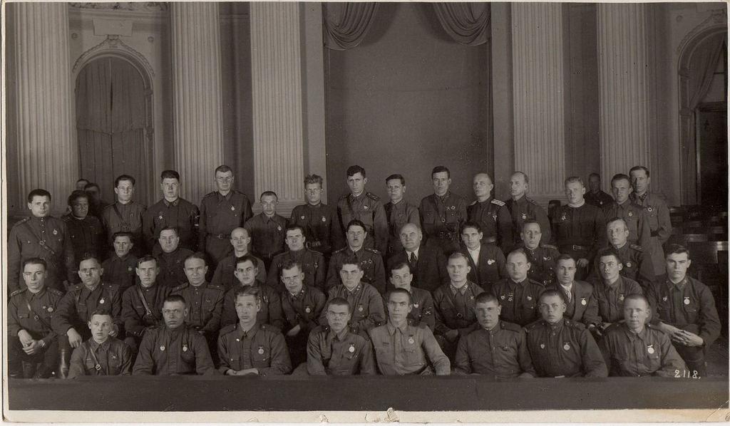 1943. Вручение наград. Москва. Кремль, март