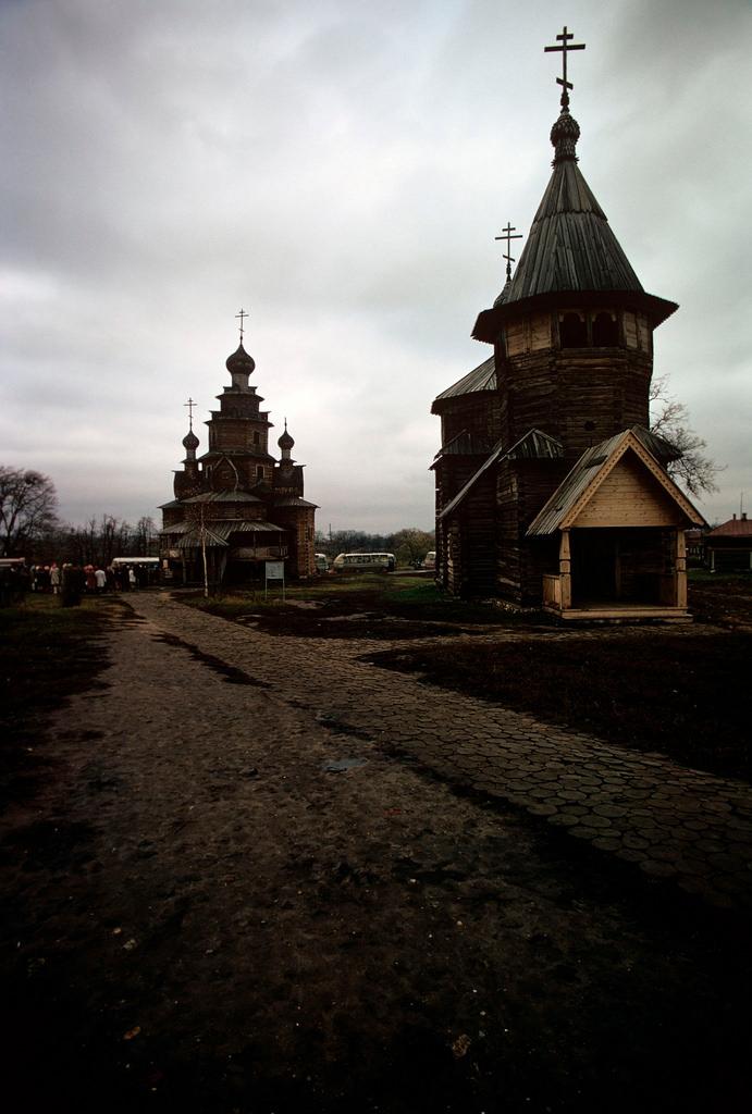 1972. Суздаль. Музей деревянного зодчества