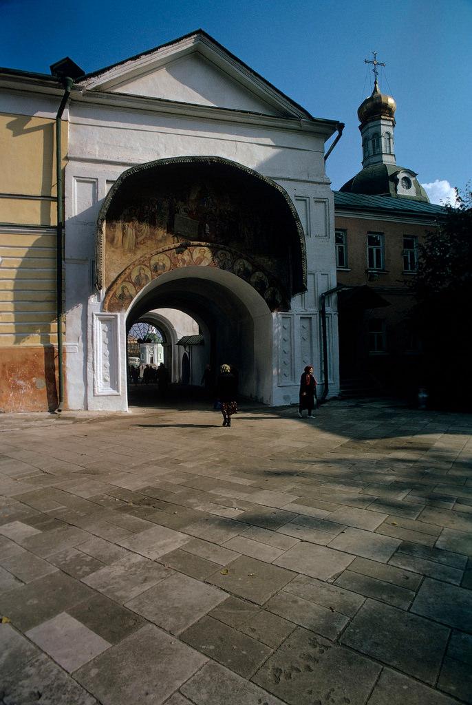 1972. Троице-Сергиева лавра. Успенские ворота