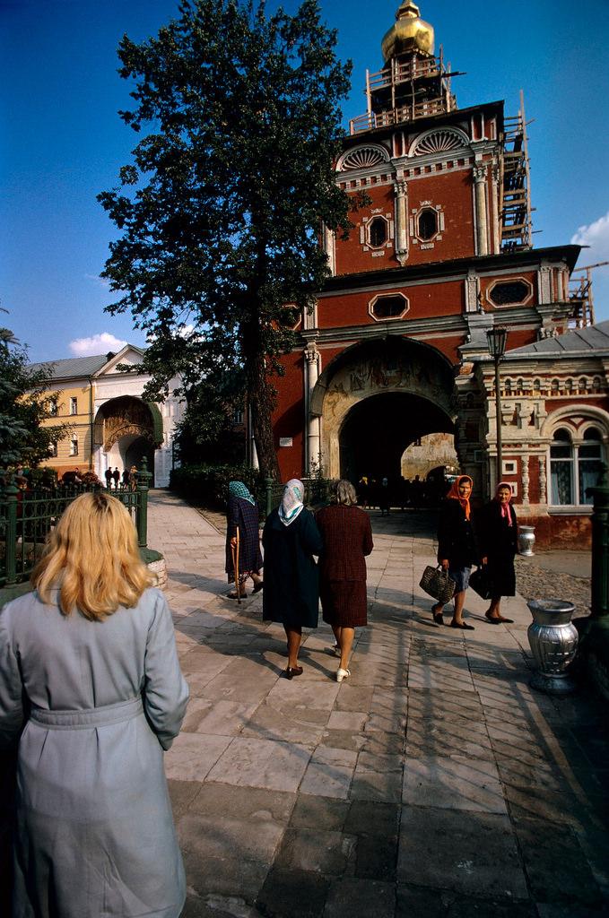 1972. Троице-Сергиева лавра. Церковь Иоанна Предтечи