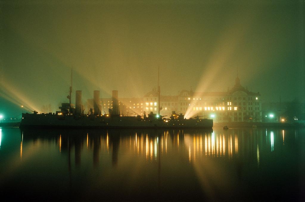 1983. Ленинград. Вид на Аврору