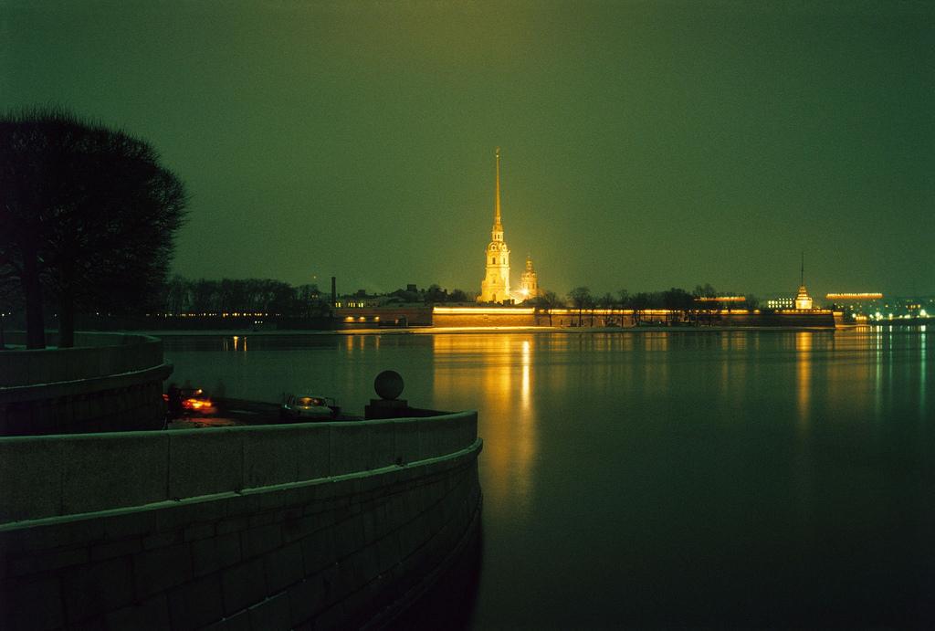 1983. Ленинград. Вид на Петропавловскую крепость