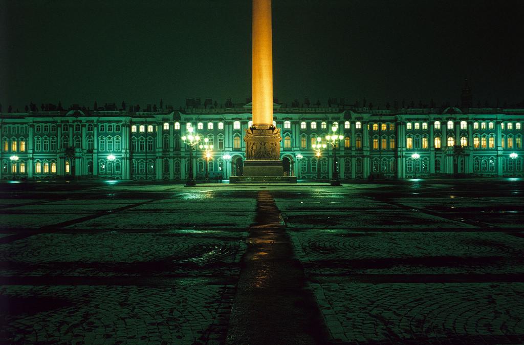 1983. Ленинград. Дворцовая площадь