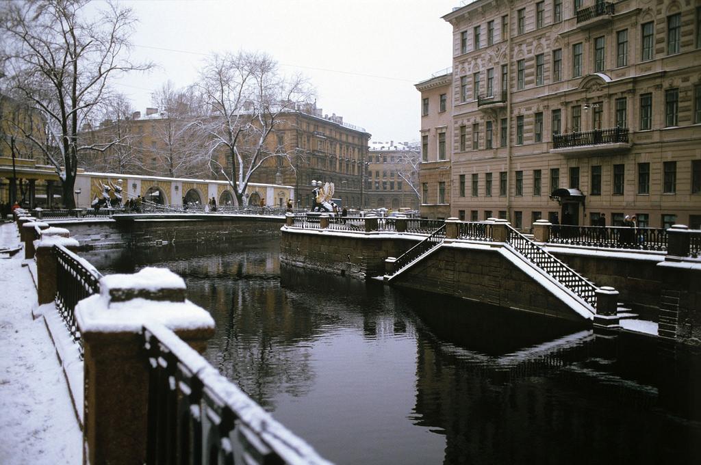 1983. Ленинград. Канал Грибоедова у Банковского мостика