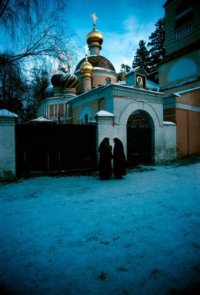 1983. Москва. Церковь Преображения Господня в Переделкино