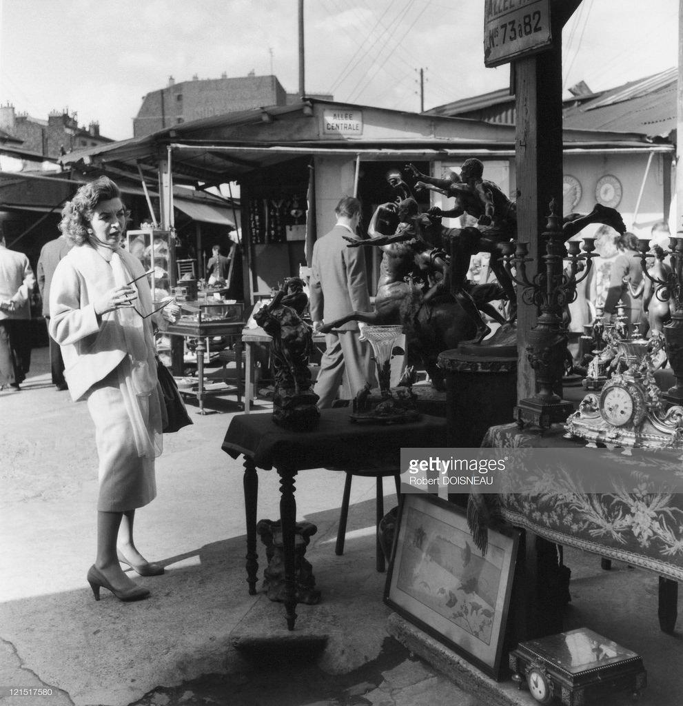 1950-е. Антикварная лавка