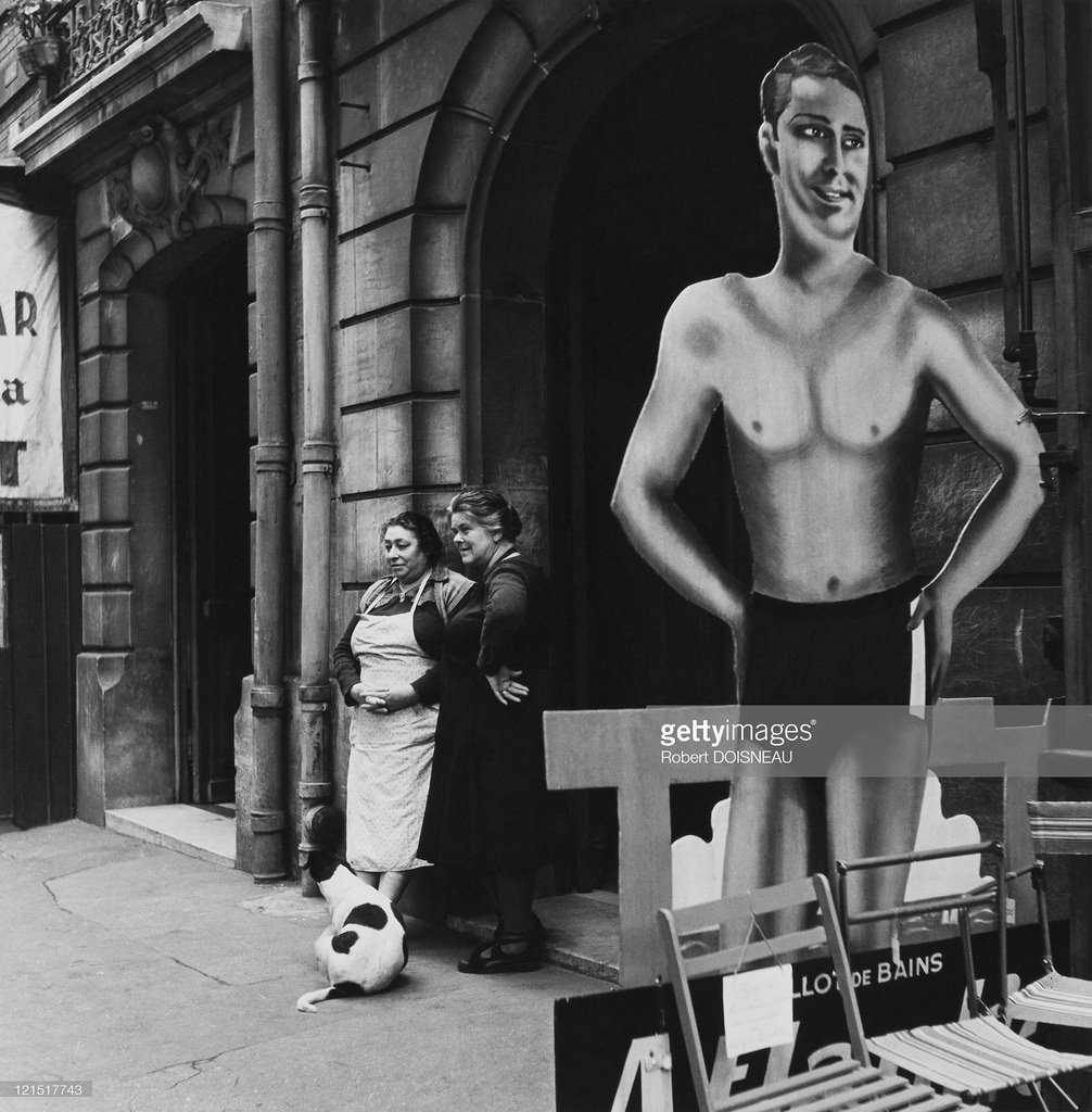 1950-е. Парижский пловец