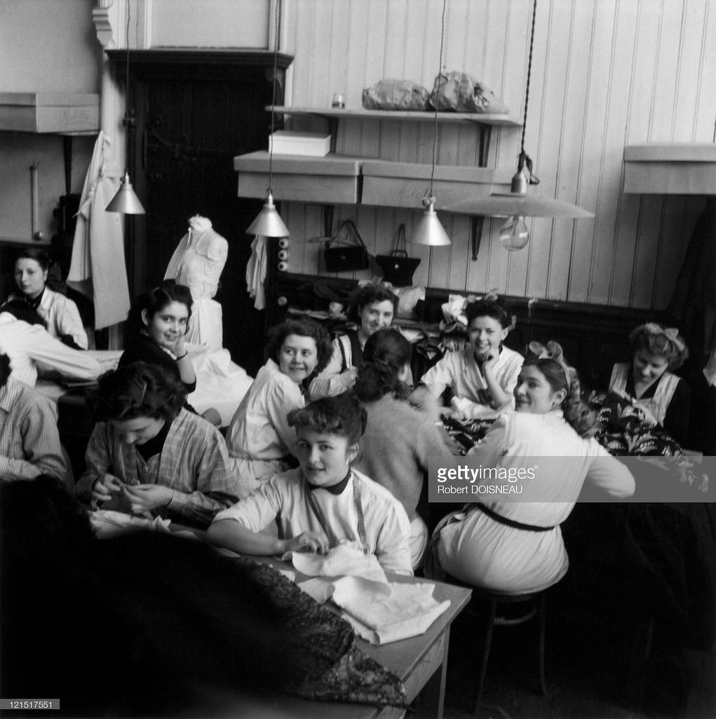 1950-е. Портнихи