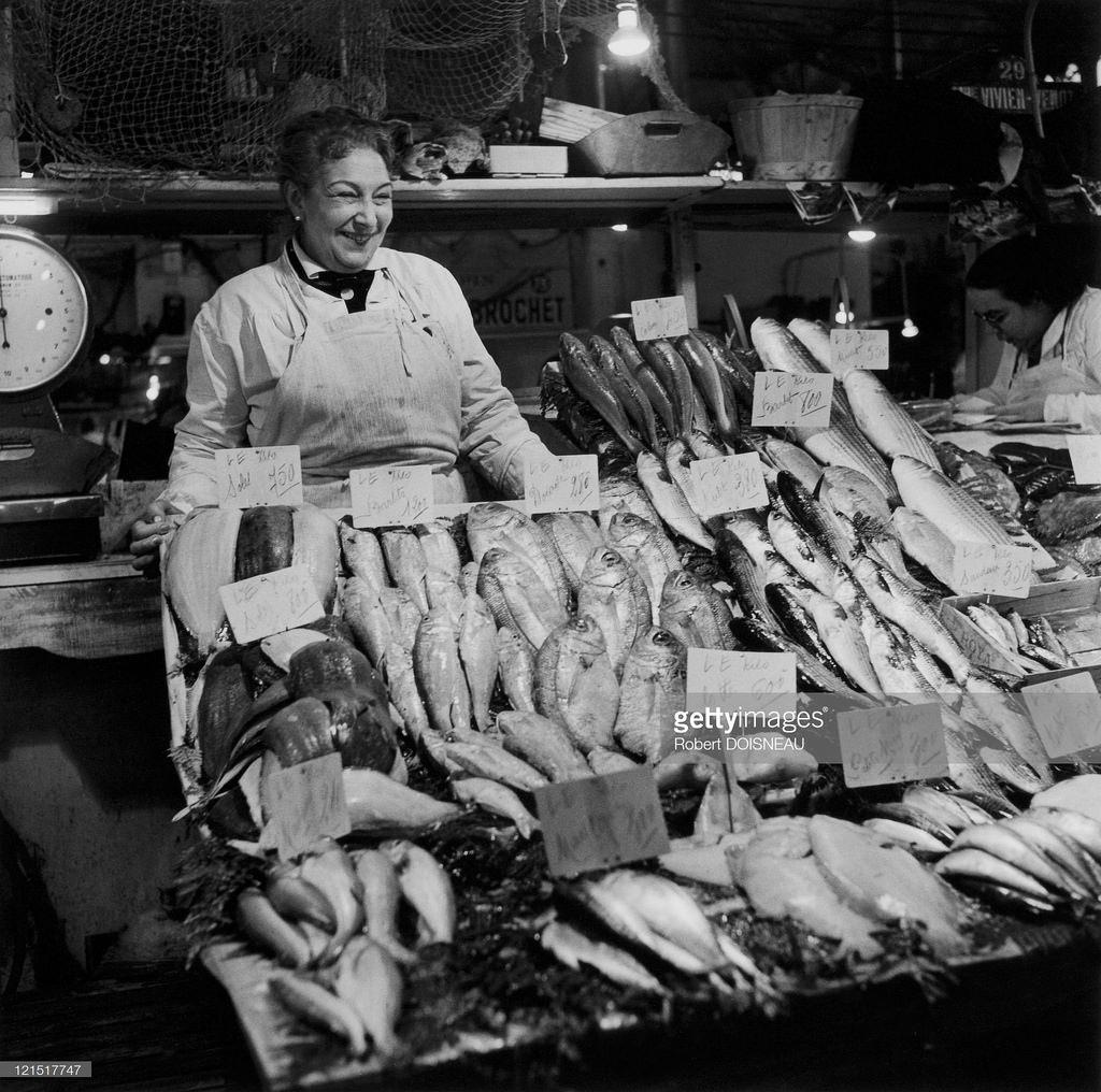 1950-е. Торговка рыбой