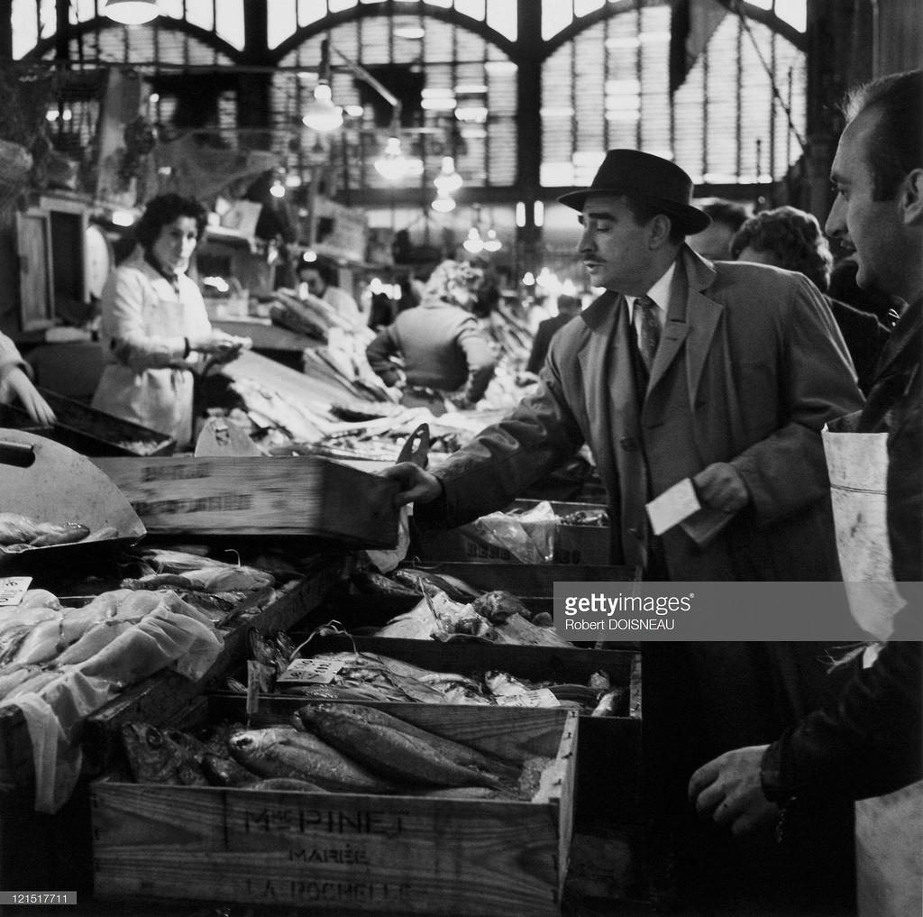 1959. Ле-Аль. Рыбный павильон