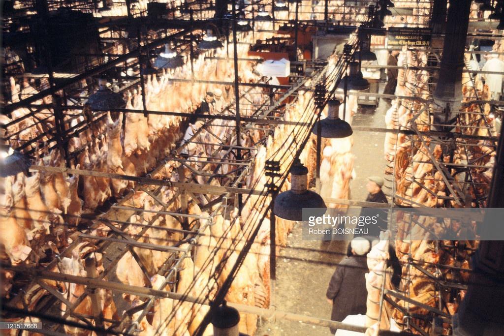 1967. Мясной павильон в Ле-Аль