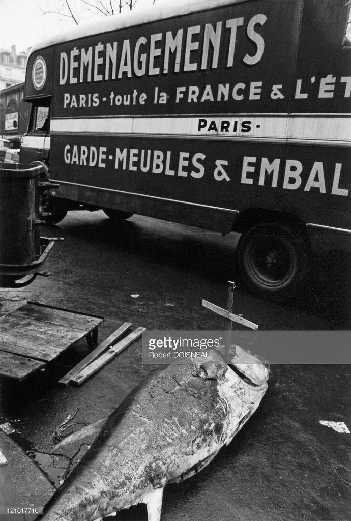1969. Ликвидация рыбного павильона в Ле-Аль