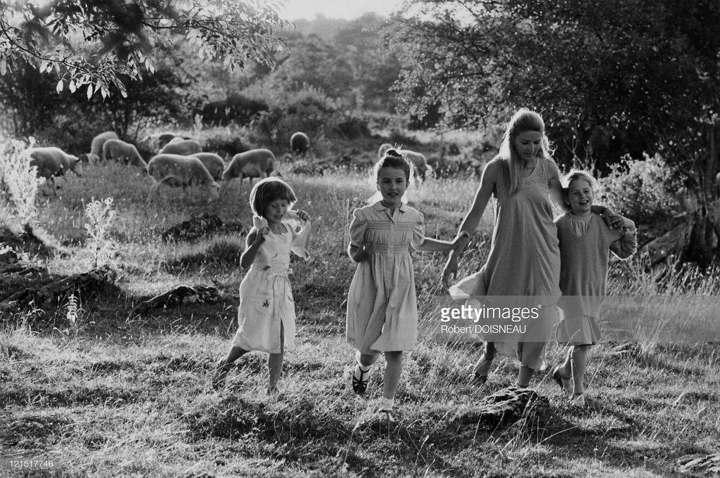 1980. Прогулка в сельской местности