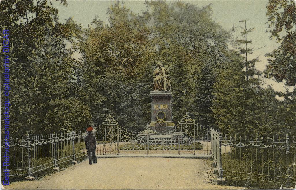 Памятник К. Е. Байеру