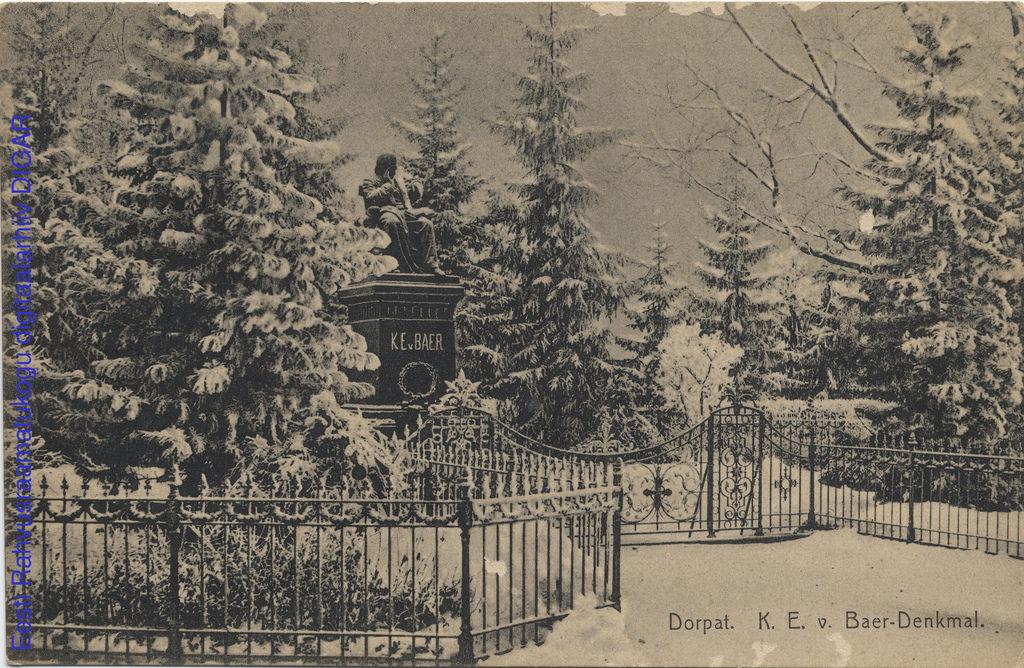 Памятник фон Бэру