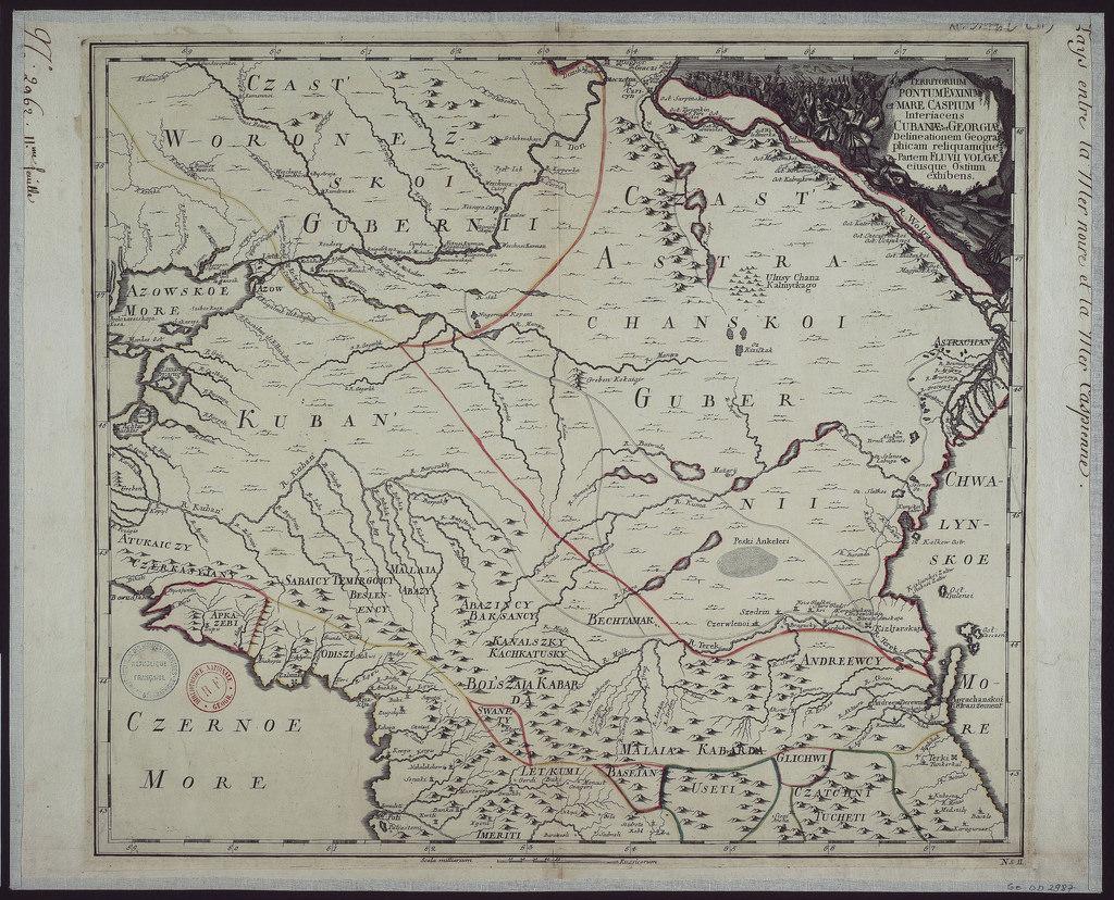 1745. Карта Юга России