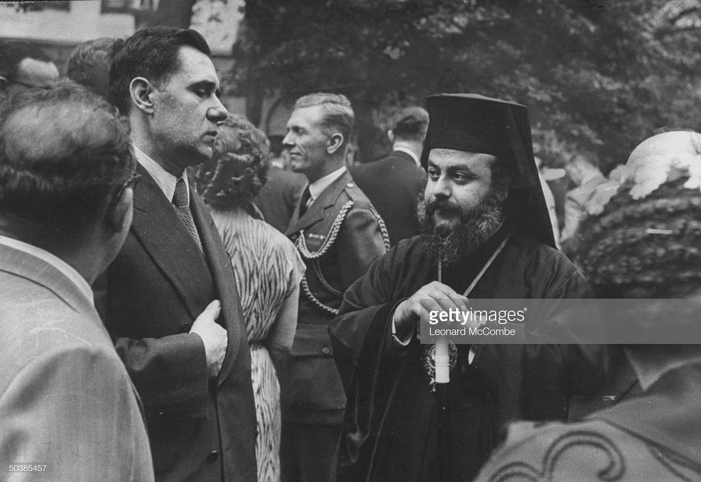 Андрей Громыко и представитель Антиохийского патриархата