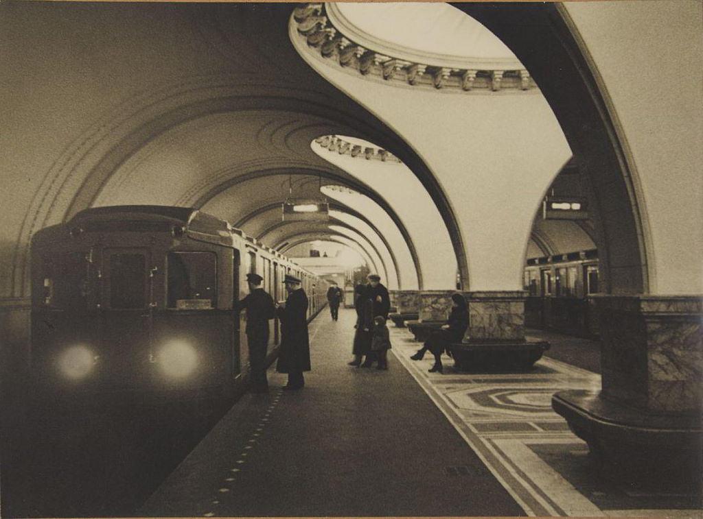 1938. Metro Station 'Sokol', Moscow